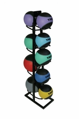 TKO 2 - 15 LB Medicine Ball Set with Rack