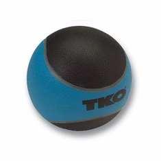 TKO 4 LB Rubberized Medicine Ball