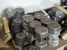 Used & New Weights & Dumbbells.  .49 Cents per Lb