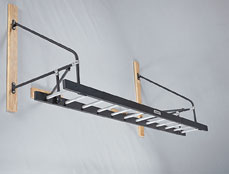 Wall Attached Horizontal Ladder- 12' Long by Powermax