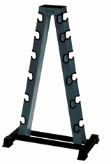 York Barbell 2-Sided A-Frame Dumbbell Rack