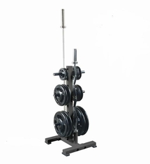 York Barbell Olympic Plate Tree Black