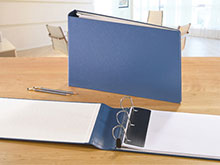 Heavy Duty One-Touch™ Ledger 3-Ring Binder (3� Spine)