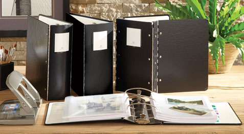 High-Capacity Archival Binders