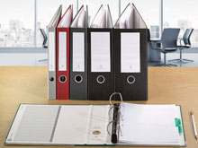 One-Touch™ 3-Ring Binders