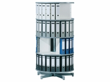 4 Tier One Turn Carousel