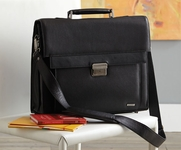 Amherst Leather Briefcase