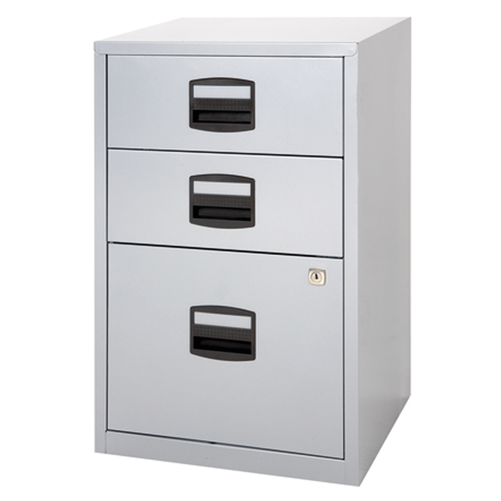 Bisley Two Drawer Steel Home Filing Cabinet Orange File2: Bisley 3 Drawer Home File Cabinet