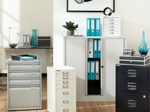 Bisley Steel File Cabinets and Shelving