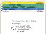 Employment Law Index Tabs