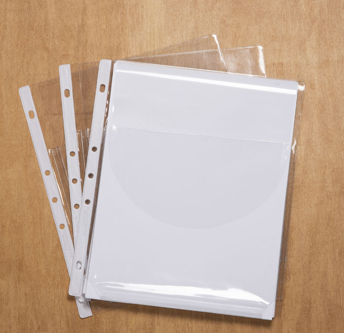 Expandable Heavy Duty Sheet Protectors With Flap Closure