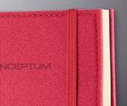 Felt Softcover Lined Notebook � Journal Size (with elastic closure)