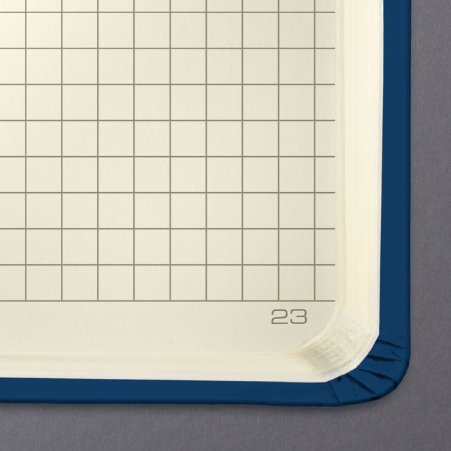 Hardcover Graph Notebook Journal Size (with elastic closure)