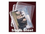 Letter Size Single Sheet Protectors