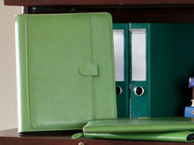 Luxe 3 Ring Zipper Binder
