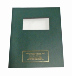 """<font size=""""3"""">Cover Sheets for Binding</font>"""