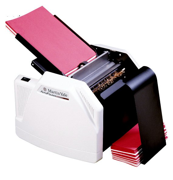 martin yale 1501x tabletop folding machine