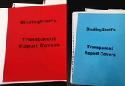 Transparent Report Covers