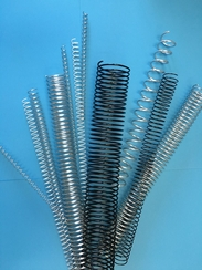 "Metal Spiral Coil Supply - 3/8"" / 10mm  - Binds to 68 sheets."