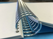 """Wire Spiral Coil Supply - 7/8"""" or 22mm - Binds to 175 sheets."""