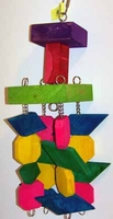Graham's Parrot Toy Creations 4-Legs Medium