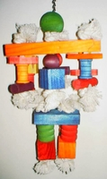 Paradise Toys Cotton Rope & Blocks Large