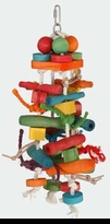 Paradise Toys Featherland Colored Wood Pieces