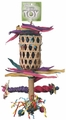 Polly Wanna Bird Foraging Pouch Play Perch