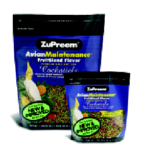 Zupreem AvianMaintenance FruitBlend Cockatiel 10oz