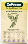 Zupreem AvianMaintenance Natural Cockatiel 20lb