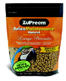 Zupreem AvianMaintenance Natural Large Parrot 3lb