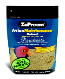 Zupreem AvianMaintenance Natural Parakeet 2.25lb