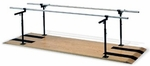 Adjustable Parallel Bars - 28''W X 120''L X 29 - 42''H [HAU-1390-FS-HAUS]