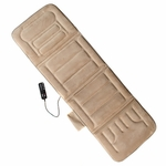 10-Motor Massage Mat with Heat - Beige [60-2907P08-FS-COM]