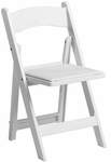 1000 lb. Max White Resin Folding Chair [R101-RESIN-WHITE-CSP]