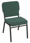 1000 Series 2'' Seat Wing Back Armless Stack Chair [WB1020-IFK]