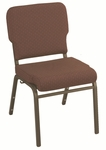 1000 Series 3'' Seat Wing Back Armless Stack Chair [WB1030-IFK]