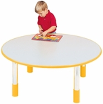 1000 Series 48'' Diameter Fixed 14'' Height Round Activity Table [9128R-TOT]