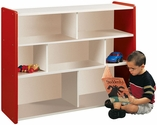 1000 Series 37''H Jumbo Sectional Shelf Storage with 7 Compartments