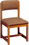 111 Desk Chair w/ Upholstered Back & Seat - Grade 2 [111-GRADE2-ACF]