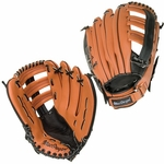 12.5'' Fielder's Leather Glove with Adjustable Strap [BBMESHXX-FS-AC]