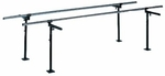 Floor Mounted Parallel Bars - 28''W X 144''L X 29 - 42''H [HAU-1342-FS-HAUS]