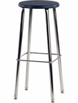 120 Series 30''H Stool with Soft Plastic Seat [12030-VCO]