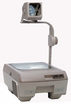 120 Series Overhead Projector w/ Closed Head & Lamp Changer [127-P-FS-BUHL]