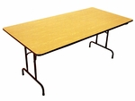 13000 Series Deluxe Plywood Folding Table [131872-AP]