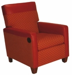 1481 Upholstered Incliner with Tilt Back - Grade 1 [1481-GRADE1-ACF]