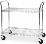 18'' D x 36'' W Heavy Duty Mobile Cart [SHCART1836-MFO]