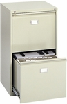 23.25'' W x 24'' D x 40.5'' H Two Drawer Vertical File Cabinet - Tropic Sand [5039-SAF]