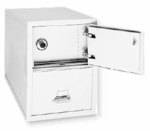 Safe-In-A-File Two Drawer Vertical Legal File [2-2131-C-SF-FS-FK]