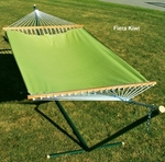Polyester Fabric and Rope Pocket Design 11' Hammock - Fiera Kiwi [2790W69-FS-ALG]